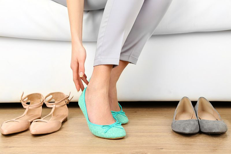 کفش مناسب دوران بارداری