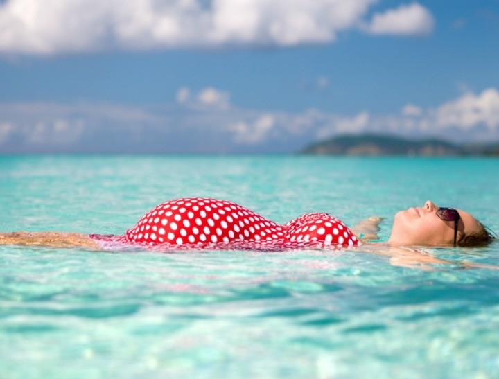 شنا برای خانم های باردار