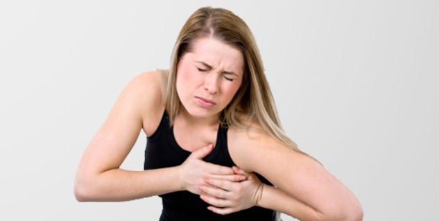 درد قفسه سینه در زنان باردار
