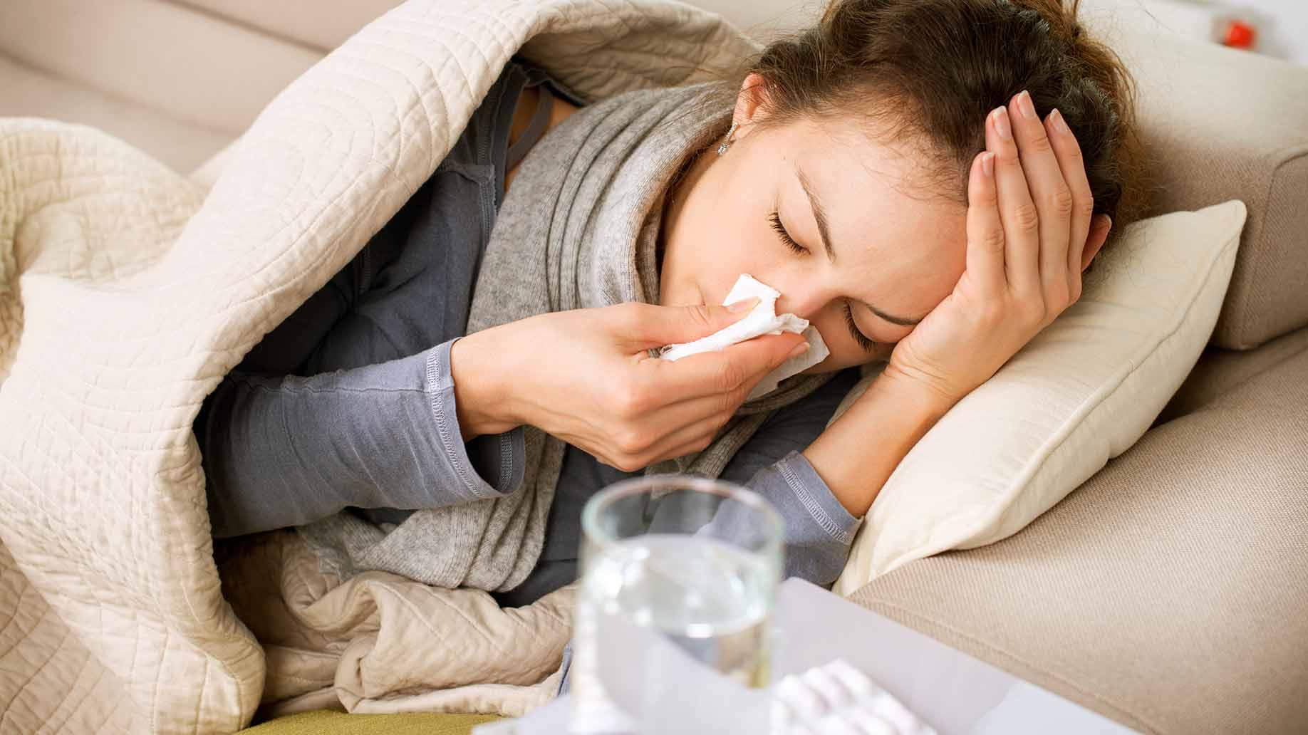 اقدامات مهم در هنگام سرما خوردگی