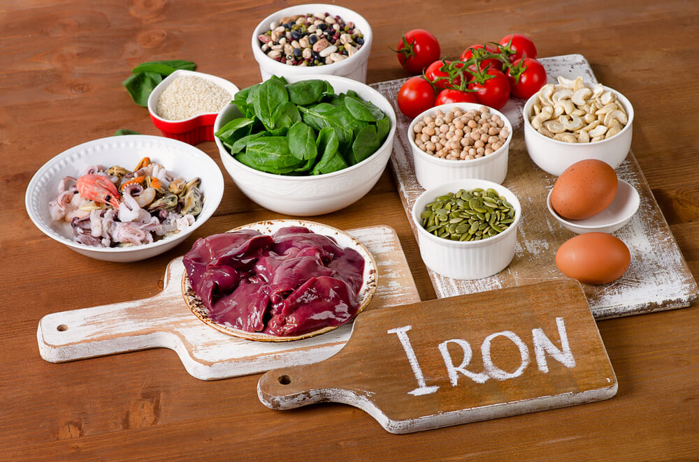 جذب آهن بیشتر در دوران بارداری