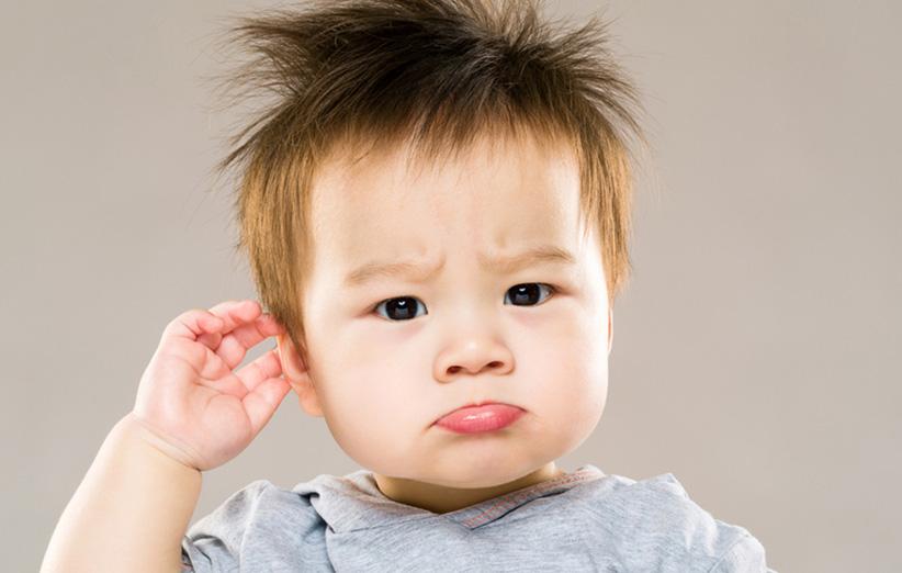 راز داشتن فرزندی با موهای پرپشت