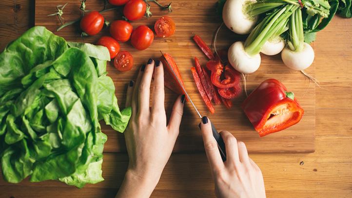 خوردن سبزیجات در دوران بارداری