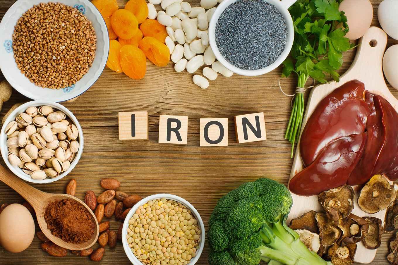 جذب آهن در مواد غذایی