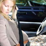 لزوم بستن کمربند ایمنی در دوران بارداری