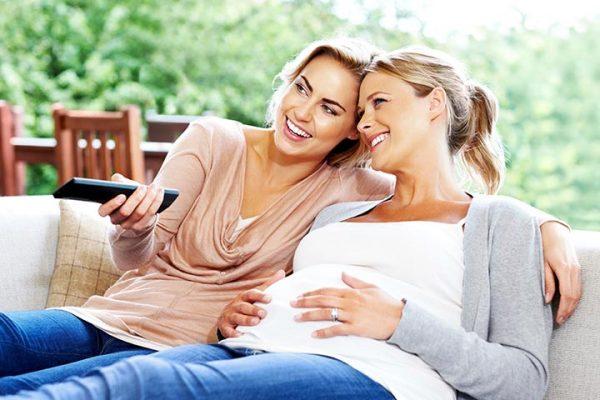 جفت سر راهی در بارداری