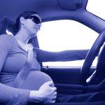 در ماه های آخر بارداری رانندگی نکنید